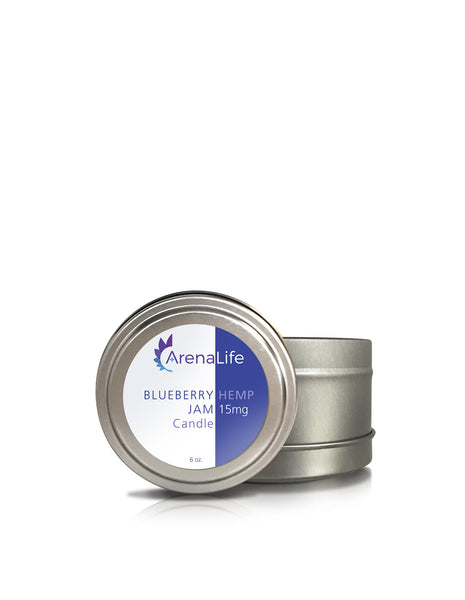 Canister Candle with Hemp Extract