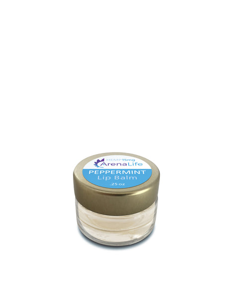 Peppermint Lip Balm with Hemp Extract
