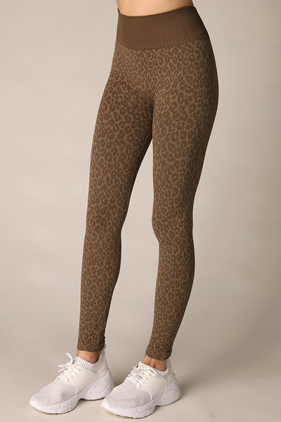 LEOPARD LEGGINGS - Penny Lane Boutique
