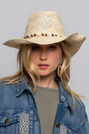 SUMMER STRAW HAT - Penny Lane Boutique