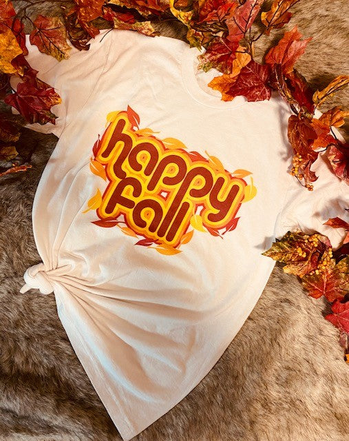 HAPPY FALL TEE - Penny Lane Boutique