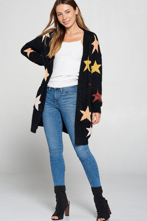 STAR STRUCK CARDIGAN - Penny Lane Boutique