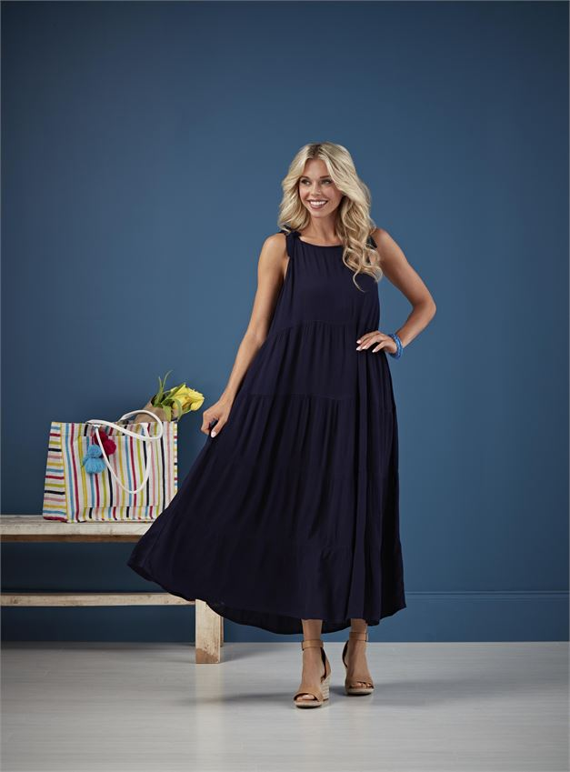 MIMI TIERED MAXI DRESS - Penny Lane Boutique