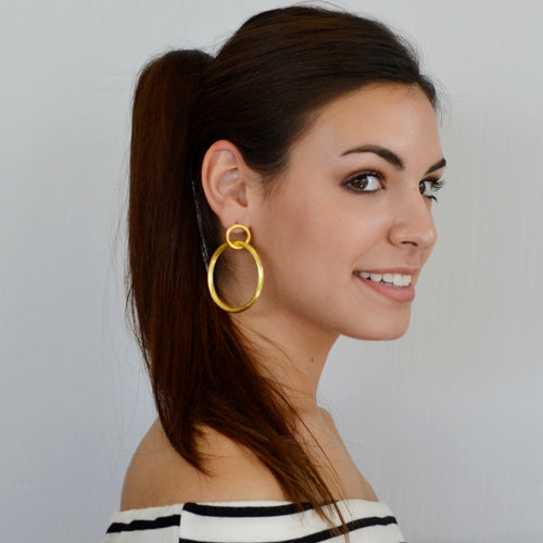 BETTY CARRE' LARISSA  HOOPS - Penny Lane Boutique