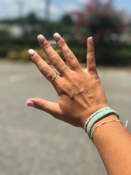 PURAVIDA WAVE RINGS - Penny Lane Boutique