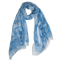 DRAGONFLY SCARF - Penny Lane Boutique