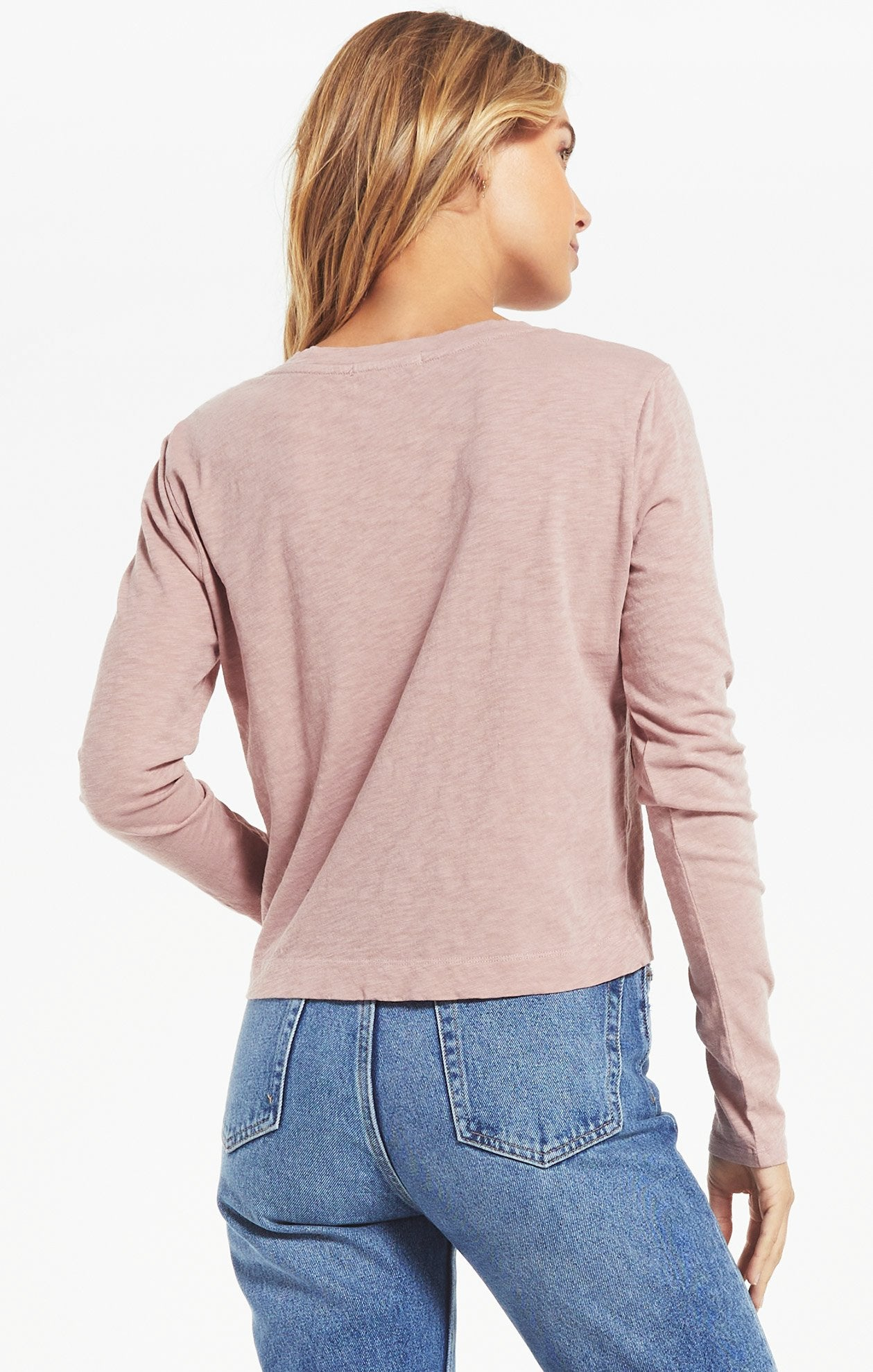 MINA SLUB TOP - Penny Lane Boutique