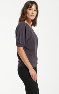 GIANNA TERRY TEE - Penny Lane Boutique