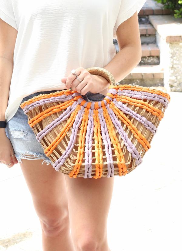 STAR VALLEY STRAW BAG - Penny Lane Boutique