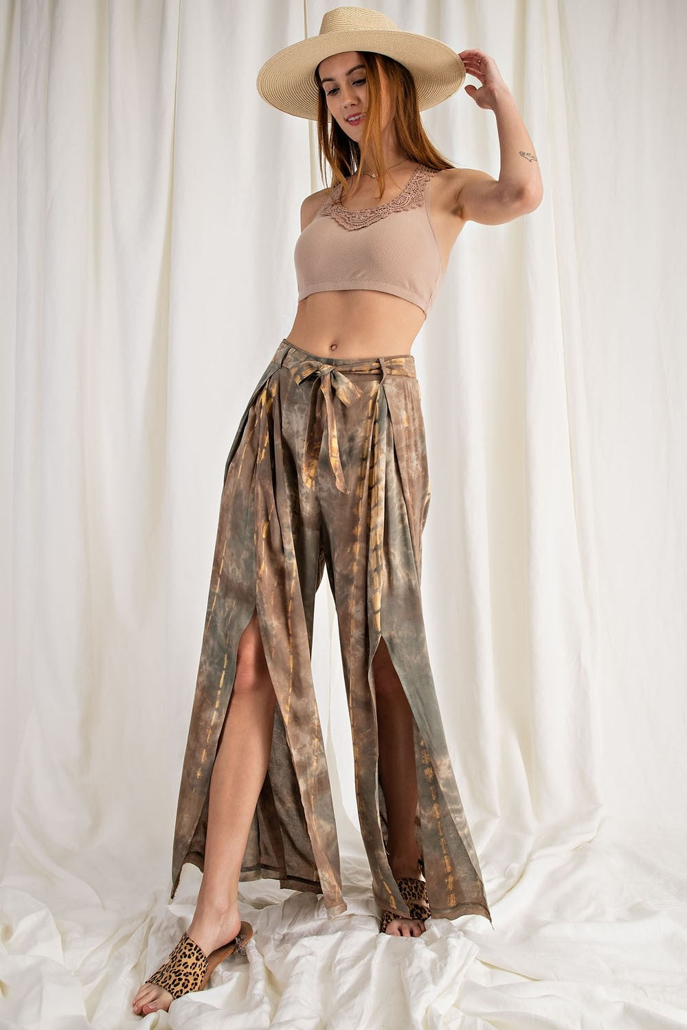 ON THE TOWN WRAP PANTS - Penny Lane Boutique