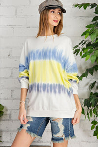 TIE DYE WORK IT OUT PULLOVER - Penny Lane Boutique