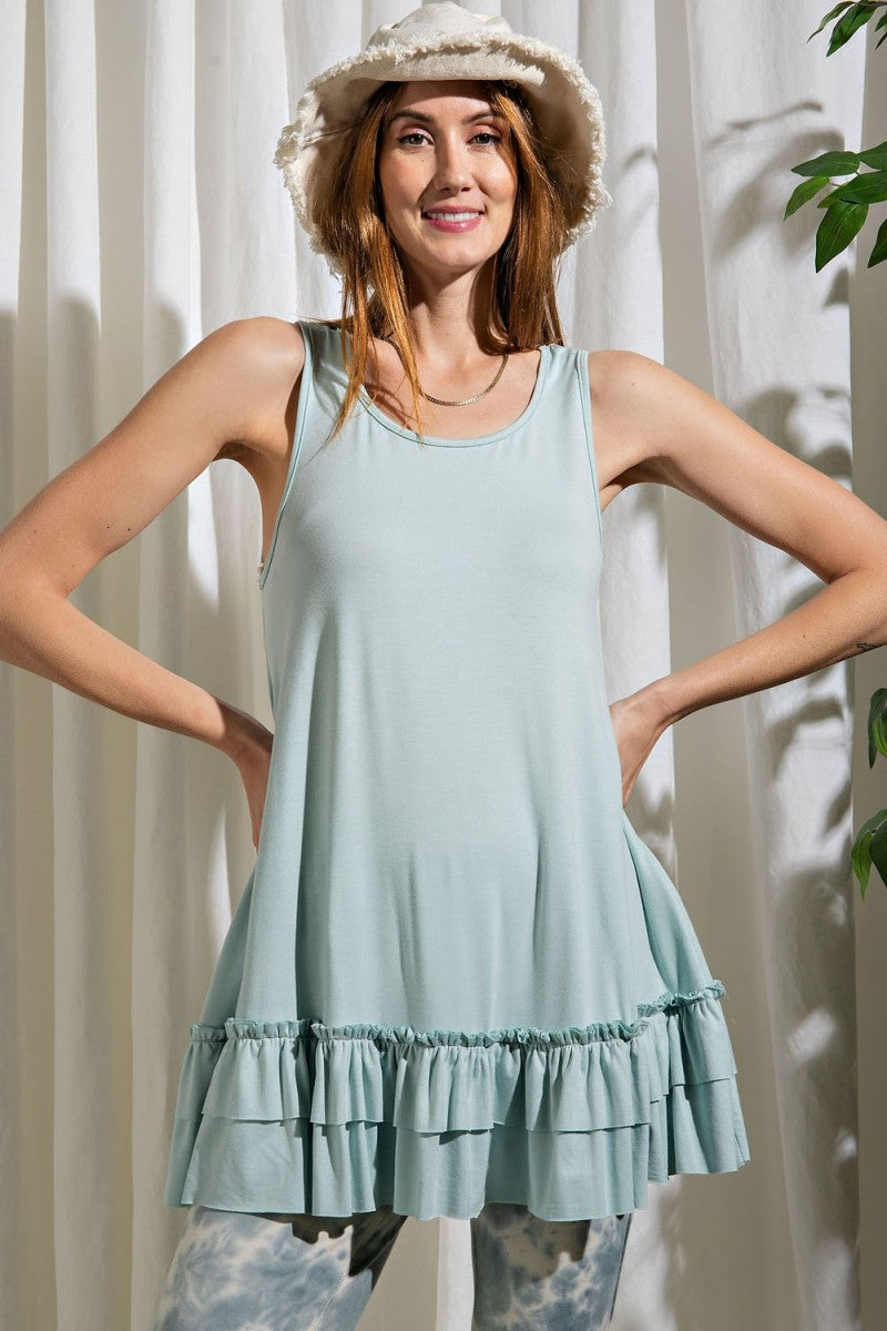 HOT SUMMER NIGHT TUNIC - Penny Lane Boutique