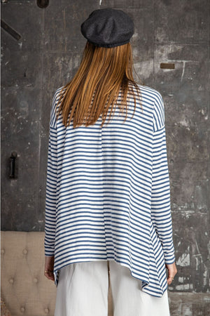 CANDY STRIPED TUNIC - Penny Lane Boutique