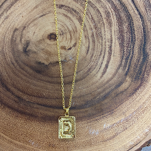 INITIAL NOTICE NECKLACE - Penny Lane Boutique