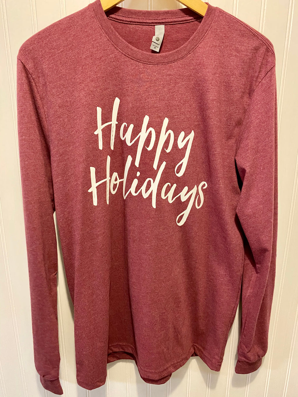 LONG SLEEVE HOLIDAY TEE - Penny Lane Boutique