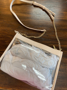 CLEAR CROSSBODY - Penny Lane Boutique