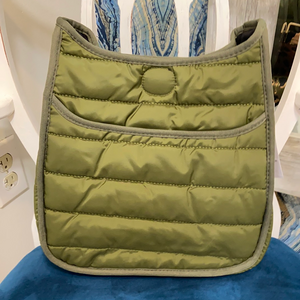 PUFFY SPORT MESSENGER - Penny Lane Boutique