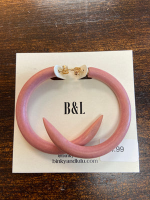 BINKY & LULU SMALL HOOPS - Penny Lane Boutique