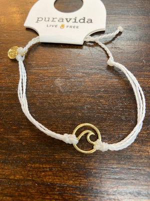 PURA VIDA GOLD WAVE BRACELET - Penny Lane Boutique