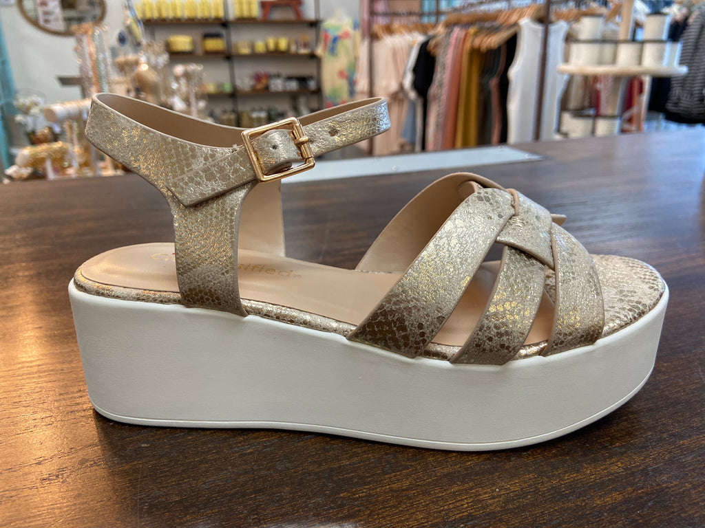 GRIND SANDAL - Penny Lane Boutique