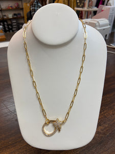 STAR LOCK NECKLACE - Penny Lane Boutique