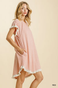 DAY AT THE LAKE DRESS - Penny Lane Boutique