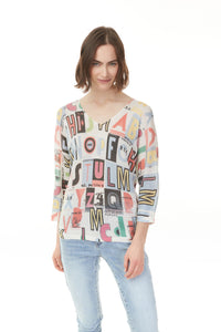 GRAPHIC SWEATER - Penny Lane Boutique