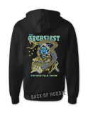 The Greasiest Motorcycle Show zipper hoodie - 2019 | Bad Grease Inc