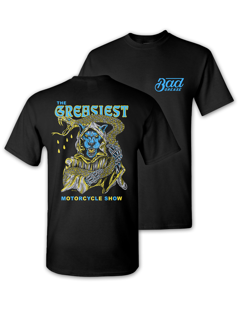 25d134f79 Search engine listing preview Edit website SEO The Greasiest Motorcycle  Show t-shirt - 2019