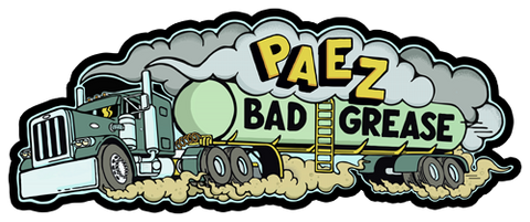 Bad Grease Inc - Jesse Paez - Keep On Truckin' sticker
