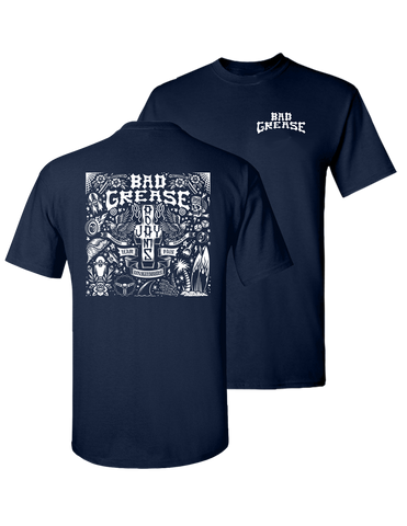 Jay Adams Forever t-shirt - NAVY | Bad Grease Inc