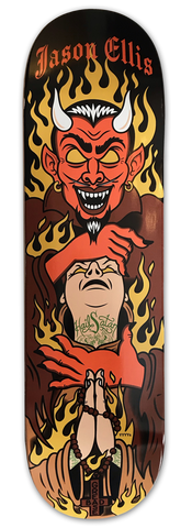 Bad Grease Inc - Jason Ellis - Devil skateboard