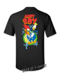 Andy Roy - Pecker t-shirt - BLACK | Bad Grease Inc