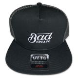 Bad Grease logo snapback hat | Bad Grease Inc