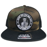 BG Support snapback hat | Bad Grease Inc