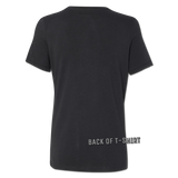 Never Broken Bottle Ladies t-shirt - BLACK | Bad Grease Inc