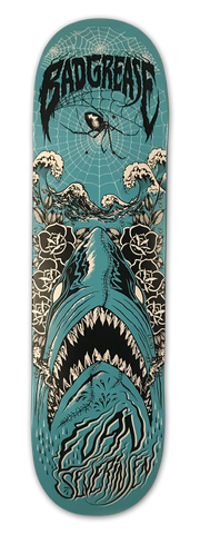 Shark Bait - Evan Severinsen skateboard | Bad Grease Inc