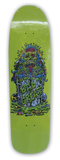 Toxic Monster skateboard - old skool - lime | Bad Grease Inc