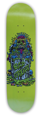 Toxic Monster skateboard - popsicle - lime | Bad Grease Inc