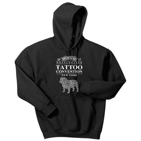 Tattoo Convention Pullover Hood