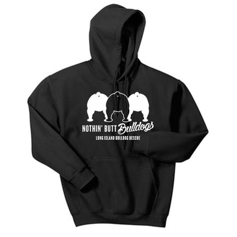 Nothing Butt Bulldogs Hoody