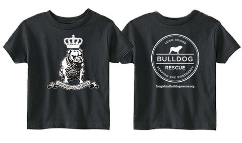 Youth Tee Shirt Bulldog Crown