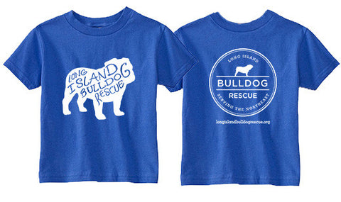 Youth Tee Shirt Bulldog Front