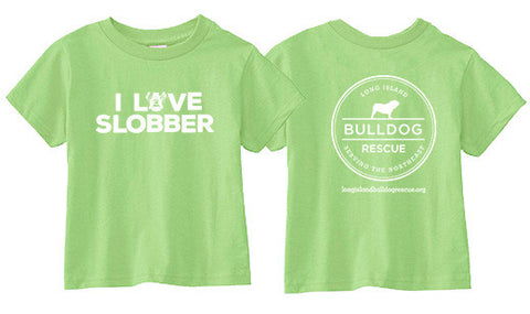 Youth Tee Shirt I Love Slobber