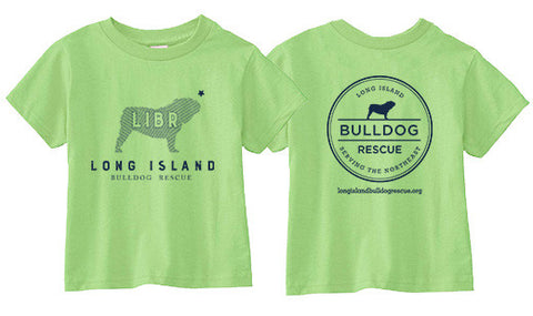 Youth Tee Shirt  LIBR Bulldog