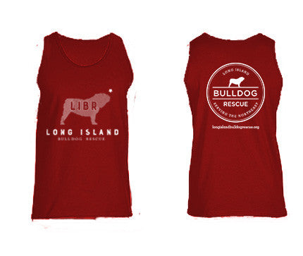 Mens LIBR Bulldog Tank Top