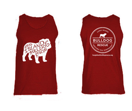 Mens Bulldog Front Tank Top
