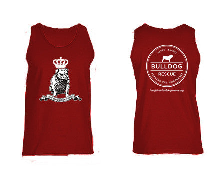Mens Bulldog Crown Tank Top