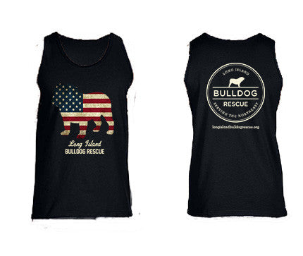 Mens Flag Dog Tank Top