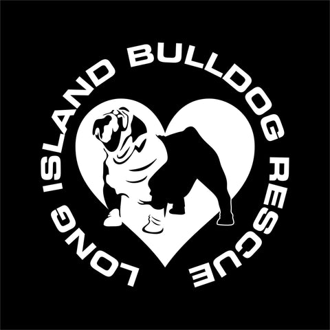 Long Island Bulldog Rescue – Car Decal